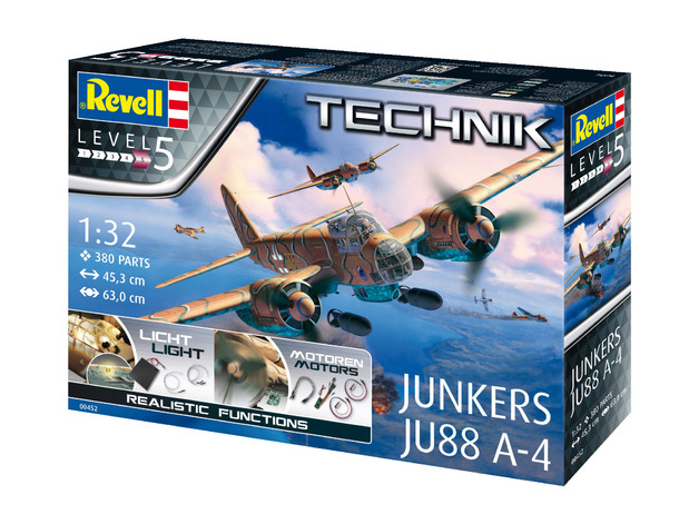 Revell: 1/32 Junkers Ju-88A-4 Technik Series Model Kit