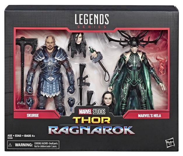 Marvel Legends: Action Figure 2-Pack - Skurge & Marvel's Hela