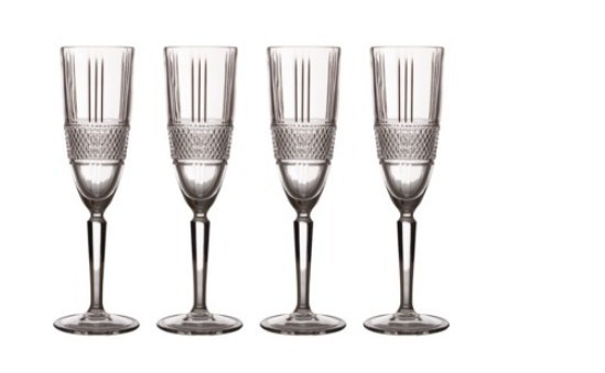 Maxwell & Williams: Verona Flute Set of 4 - Gift Boxed (150ml)