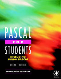 Pascal for Students (including Turbo Pascal) by Ray Kemp image