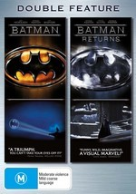 Batman / Batman Returns - Double Feature (2 Disc Set) on DVD