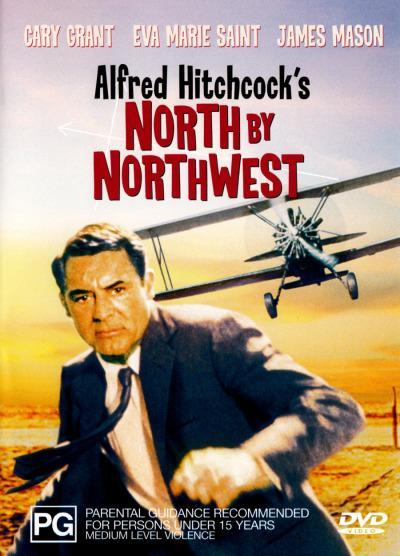 North By Northwest (1959) on DVD image