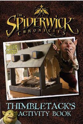 Spiderwick Chronicles Thimbletacks Activity Book by Jen Funk Weber