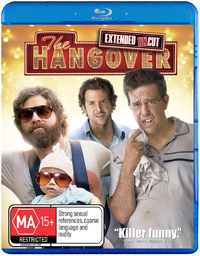 The Hangover - Extended Cut Special Edition + free Digital Copy on Blu-ray, DC image