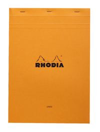 Bloc Rhodia Orange A4 80 L & M Sheets