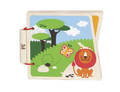 Hape: At the Zoo Wooden Book