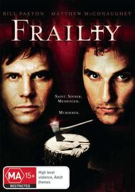 Frailty on DVD image