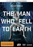 The Man Who Fell To Earth (40th Anniversary + Remastered Edition) DVD