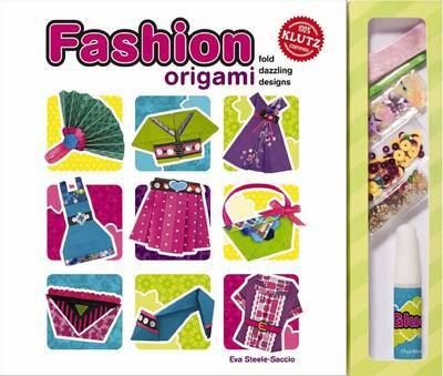 Fashion Origami: Fold Dazzling Designs by Klutz Press image