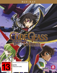 Code Geass: Complete Series (10th Anniversary - Limited Edition) on Blu-ray image