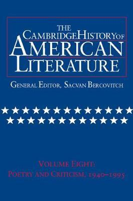 The Cambridge History of American Literature: Volume 8