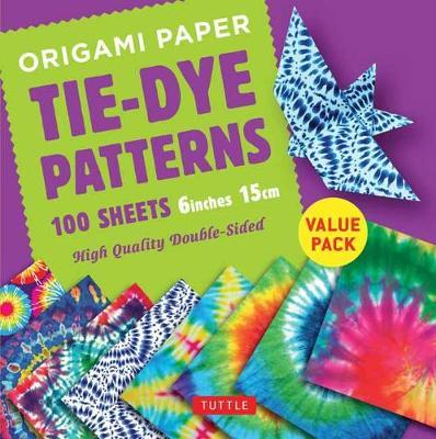 Origami Paper 100 Sheets Tie-Dye Patterns 6o (15 CM)