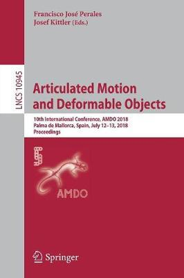 Articulated Motion and Deformable Objects image