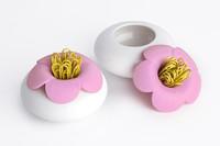 Qualy Blossom Pod Clip Holder (Pink)