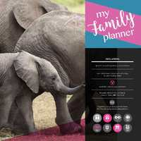 My Family Planner 2019 Square Wall Calendar