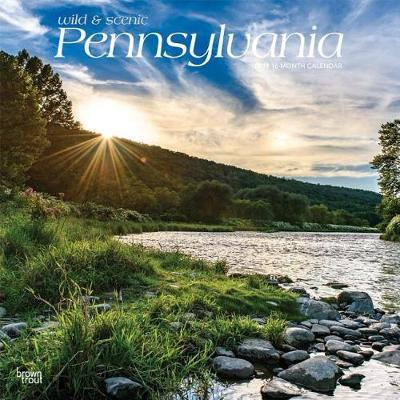Pennsylvania Wild & Scenic 2019 Square by Inc Browntrout Publishers