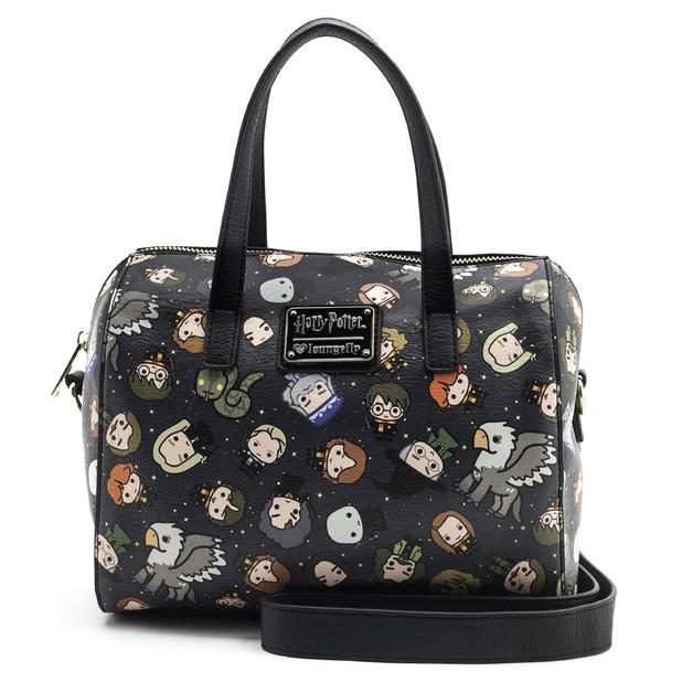 Loungefly: Harry Potter - Chibi Print Duffle Bag