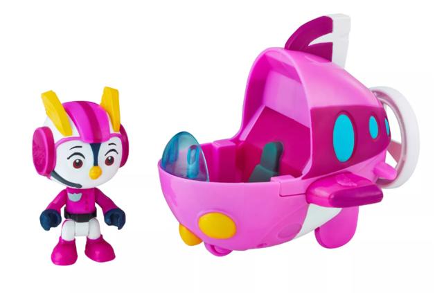 Top Wings: Figure & Vehicle Set - Penny's Aqua Wing