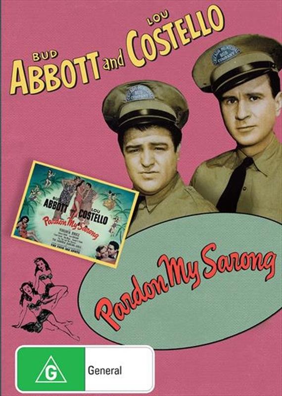 Abbott And Costello: Pardon My Sarong on DVD