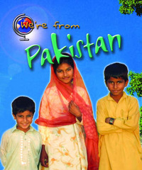 We're from Pakistan by Vic Parker image