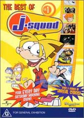 Best Of J-Squad - Vol. 1 on DVD