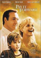 Pay It Forward on DVD