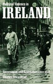Political Violence in Ireland by Charles Townshend image