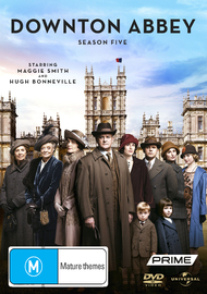 Downton Abbey - Season 5 on DVD
