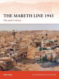 The Mareth Line 1943 by Ken Ford