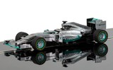 Scalextric: Mercedes F1 W05 Hybrid Lewis Hamilton Slot Car