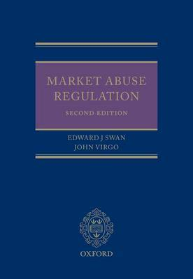 Market Abuse Regulation by Edward J. Swan image