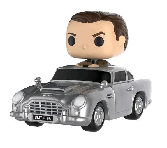 James Bond with Aston Martin - Pop! Rides Figure