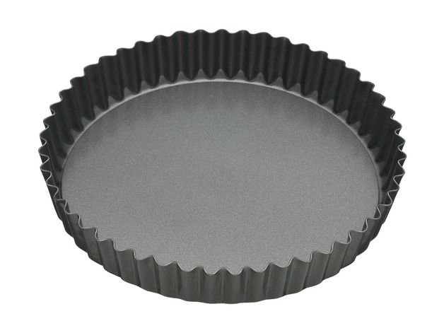 MasterClass: Non-Stick Loose Base Round Quiche Pan (25cm)