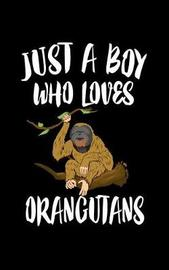 Just A Boy Who Loves Orangutans by Marko Marcus image