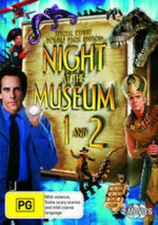Night At the Museum / Night At the Museum 2 (2 Disc Set) on DVD