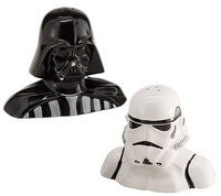 Star Wars Darth Vader and Stormtrooper Salt and Pepper Shaker Set image