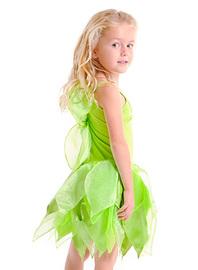 Fairy Girls - Tinker Fairy Dress (Medium, age 4-6)