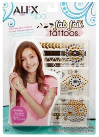 Alex: Fab Foil Tattoos Set - Gold