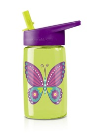 Crocodile Creek Tritan Drink Bottle Butterfly