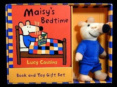 Maisy's Bedtime BD Bk and Gift Box by Lucy Cousins image