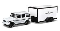 Maisto Tow N' Go: Die-cast Vehicle Set - White Van