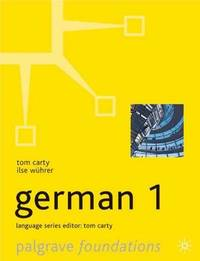 Foundations German: Level 1 by Tom Carty image