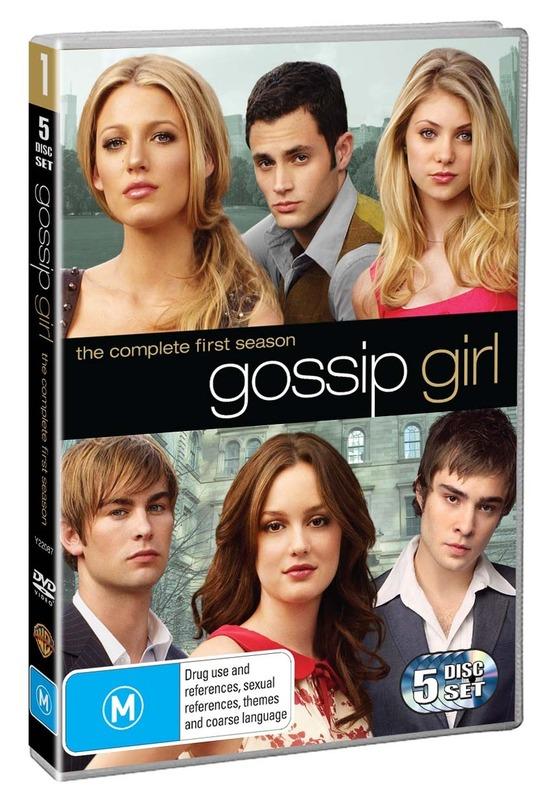 Gossip Girl - The Complete 1st Season (5 Disc Set) DVD