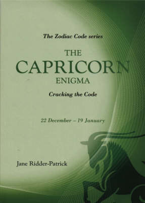 The Capricorn Enigma by Jane Ridder-Patrick