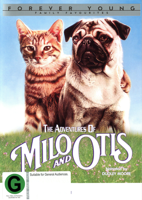 The Adventures of Milo and Otis on DVD