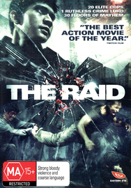 The Raid on DVD