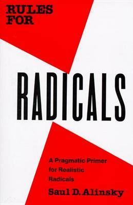 Rules For Radicals by Saul David Alinsky image