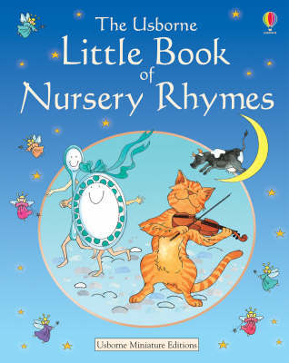 The Usborne Little Book of Nursery Rhymes by Caroline Hooper