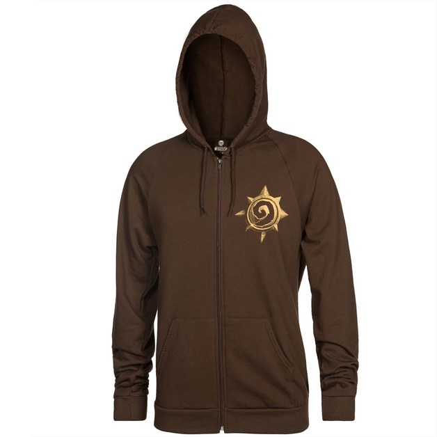 Hearthstone Rose Zip-up Hoodie (XX-Large)