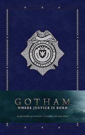 Gotham Hardcover Ruled Journal by Insight Editions